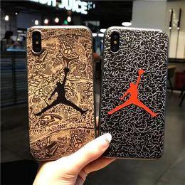 $enCountryForm.capitalKeyWord Australia - Designer Phone Case for IphoneXSMAX XR XS X 7Plus 8Plus 7 8 6 6s 5 5s 5se Fashion Relief Camo Brand TPU Back Cover Luxury Protective Case