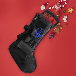 Magazine duMp pouch online shopping - Hanging Tactical Molle Christmas Stocking Bag Dump Drop Pouch Utility Storage Bag Combat Hunting Magazine Pouches Socks Gift Pack