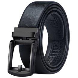 mens designer belt brands 2019 - Brand Designer Luxury Leather Belt Man Fashion Mens Automatic Buckle Belt for Men Black Real Leather Male Waist Strap EA