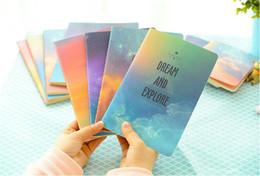 $enCountryForm.capitalKeyWord Australia - New Galaxy Star Sky City Lights Summer Beach A6 Notebook Diary Book Exercise Composition Notepad Gift Stationery DHL FEDEX free