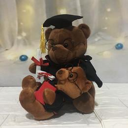 Toy Graduation Bear Australia - lovely Graduation Ceremony Graduation Gift Graduation Season Dr. Bear Doll with Teddy Bear Teddy Plush Toy