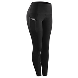 gym clothing wholesalers Canada - yoga pants Gym clothing outfit tracksuit light legging high waist body mechanics sport elastic outdoor workout jogging fitness running
