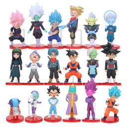 $enCountryForm.capitalKeyWord NZ - 6pcs set WCF Dragon Ball Z Super Saiyan Son Gohan Goku Goten Majin Buu Vegeta Jaco Zeno Zamasu Action Figure Toy Set Dragonball Y190529
