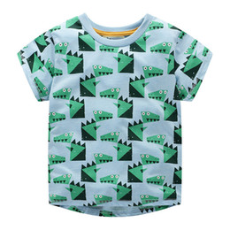 Pattern design for clothes online shopping - 8 Design New Children Cotton Cartoon T shirt for Boys Clothing Baby Girls Tops Kids Tee Shirt Animal Pattern T shirts