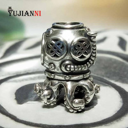 Trolls necklaces online shopping - Baby Argh Beads Sterling Silver Charms for DIY Jewelry Making Fits European Original Troll OHM Bracelet Necklace