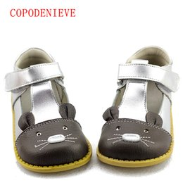 genuine leather fashion kids sandals UK - COPODENIEVEGirls Princess Shoes Autumn Genuine Leather Children Shoes for Girls Flower Kids Sandals Fashion Baby Toddler Shoes
