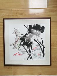 $enCountryForm.capitalKeyWord Australia - Handpainted Chinese Painting,lotus painting, Water Lily, Framed Painting