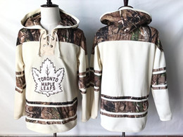 Top Quality 2019 NHL Toronto Maple Leafs Old Time Hockey Jerseys Camo  Custom Hoodie Pullover Sweatshirts Sport Winter Jacket 06adb290b