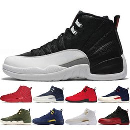 0a2f766f7785 12 12s Gym red Bulls mens Basketball shoes Michigan International Flight  College Navy Flu Game Wings Taxi NYC men sports sneakers designer