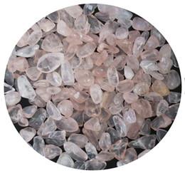Crystal Chips NZ - C03 7-10mm Natural Pink Crystals Quartz Stone Beads Chips Aquarium Gemstone Healing Specimens