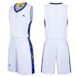 2019 New Double side pocket Men Basketball Uniforms Sports Sportswear  Training Basketball Jerseys Sets Clothes Shirt Vest Sleeveless Suit d60678de8