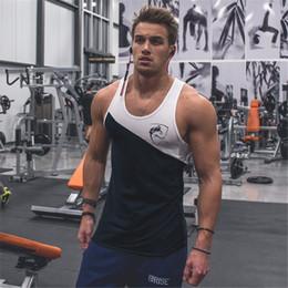 $enCountryForm.capitalKeyWord Australia - 2019 New Fashion Cotton Sleeveless Shirts Tank Top Men Fitness Shirt Mens Singlet Bodybuilding Workout Gym Vest Fitness Men