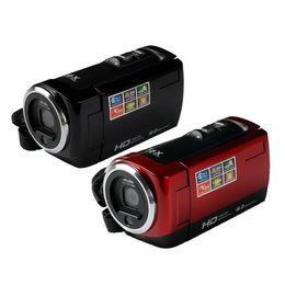 "Tft Lcd Cmos UK - New Camcorder CMOS 16MP 2.7"" TFT LCD Video Camera 16X Digital Zoom Shockproof DV HD 720P Recorder Red Black"