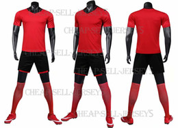 Games For Soccer NZ - Men Soccer Jerseys Set Football kit Training Suits Uniform for blank custom team game Football Jerseys Set Customzied2