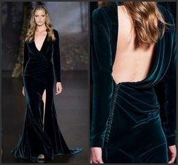 $enCountryForm.capitalKeyWord Australia - Dress with Jacket Wrap Lace Dresses Two Pieces Dress Deep V-Neck Crystal Beading Split Sexy Back Long Sleeve High Neck Short Prom