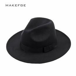 mafia hat Men s Wool Felt Snap Brim Hat Trilby Women Vintage Wool Panama Fedora  Cloche Cap Wool Felt Jazz Hats D19011103 2be168b6401b