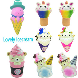 $enCountryForm.capitalKeyWord Australia - Big Octopus Unicorn Cloud Bear Ice Cream Squishy Toys Slow Rising Squishies Poop Icecream Cake Food Scented Squeeze Cute Gift For Kid 5Style