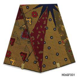 $enCountryForm.capitalKeyWord UK - New 100% Cotton Hollandais Wax High Quality Ankara Fabric African Sewing Material Veritable Wax Hollandais Guaranteed Real Dutch Wax