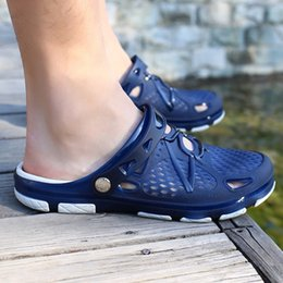 $enCountryForm.capitalKeyWord Australia - Hot Sale-2019 New Men Sandals Summer Flip Flops Slippers Men Outdoor Beach Casual Shoes Cheap Male Sandals Water Shoes Sandalia Masculina