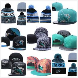 online store b6a5b 4e9a1 Shark beanie hat online shopping - Men s San Jose Sharks Ice Hockey Knit  Beanie Embroidery