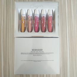 $enCountryForm.capitalKeyWord UK - Quality Stock Ky Lie Sugar Spice Lip Gloss Sets 5 Colors Matte Velvet Liquid Lipstick Makeup Beauty Sexy Lips Best for Date Fashion Party