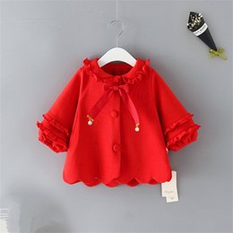$enCountryForm.capitalKeyWord Australia - Baby Coats Jackets Infant Clothing 2019 Fashion Spring Baby Girl Trench Overcoat Kids Jacket Outerwear Toddler Girl Clothes