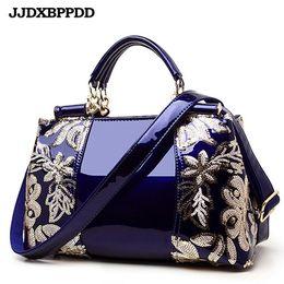$enCountryForm.capitalKeyWord Australia - Women Bags Shoulder Handbags Large Capacity Women's Handbags Shoulder Messenger bags Floral Luxury Genuine Leather Bag Y190619