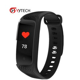 Chinese  SYYTECH New S4 digital smart bracelet color display digital sports fitness watch Remote control camera take pictures Smartwatch manufacturers