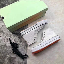 $enCountryForm.capitalKeyWord NZ - 2019 Hottest Authentic Stripe x 6788Converse OFF Chuck 70 Hi White Black Taylor Ten Men Women Running Shoes Sports Sneakers With Box