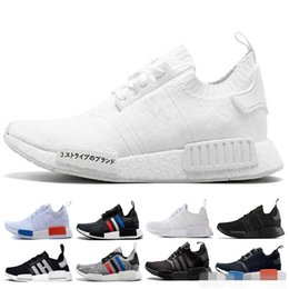 1cde79975 2018 NMD R1 Oreo Runner Nbhd Primeknit OG Triple Black Camo Running Shoes  Mens Womens Trainers Nmds Runners Xr1 Sports Sneakers Size 36-45