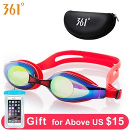 b3c206c33c6 361 Optical Swimming Glasses for Pool Professional Myopia Swimming Goggles  Adult Swim Goggles Diopter Anti Foggy Swim Eyewear C18112301