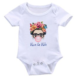 tops girl shirt design Canada - Charismatic Cute Cartoon Art T Shirt Summer Cute Baby Jumpsuit New Design Tops Girl T -Shirt Ladies Casual Tees S-3XL