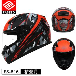 modular helmets 2019 - FASEED Motobiker Helmet Men Motorcycle Helmet Full Face Helmets Anti-fog Motocross Chopper Racing Filp Up Modular Riding