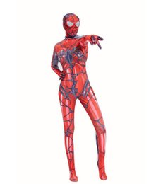 ab1bd8801da6b Halloween cosplay Superhero costume 3D digital print Zentai anime venom  Gwen Spiderman tights jumpsuit