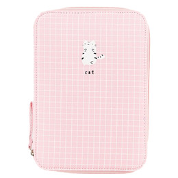 old storage boxes NZ - Kawaii Pencil Case Multifunction Storage Box Large Capacity Pen Box Student Gift Storage Bag Cute for Ipad Phone School Statio