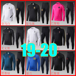 Men jogging suits online shopping - Camisetas REAL MADRID AJAX Maillot foot Football soccer tracksuit sweater jogging survetement training suit chandal tracksuit