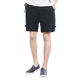 Wholesale Men s Shorts Summer Fashion Casual Loose Sport Belt Drawstring Beach Surfing Short Pants z0220