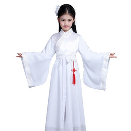 Girls Chinese Costumes Australia - Girls clothing Han Chinese clothing costume fairy princess in ancient dress costumes zither Performance TB190307