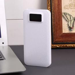 $enCountryForm.capitalKeyWord Australia - Slim 10000mAh Power Bank 10000 USB LCD Powerbank Portable External Battery Pack Charger For Xiaomi Mobile Phone Poverbank