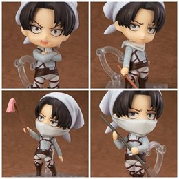 Female toy dolls online shopping - Attack On Titan Captain Rivaille Doll Q Version Change Face Clay Model Toy Remove Lovely Male And Female Fashion Gift tc I1