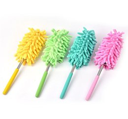 $enCountryForm.capitalKeyWord NZ - 5 color Scalable Microfiber Telescopic Dusters Chenille Cleaning Dust Desktop Household Dusting Brush Cars Cleaning Tool