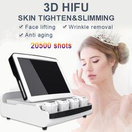 $enCountryForm.capitalKeyWord Australia - 3D HIFU Fat Burning Supersonic Machine for Home Use Hifu Body Slimming 3D 11 Lines 20500 Shots