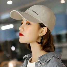64161da608429 Soft-crowned Hat Female Korean Tide Couple Spring and Autumn Sunshade Cap  Summer Fashion Sunscreen Duck Tongue Cap ins Baseball