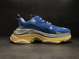 $enCountryForm.capitalKeyWord Australia - 2019 Multi Luxury Triple S Designer Low New Arrival Sneaker 1Combination Soles Boots Men Womens Runner Shoes Top Quality Sports Casual Shoe