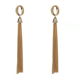 $enCountryForm.capitalKeyWord UK - long tassels diamonds dangle earrings for women western hot sale luxury crystal chandelier earrings birthday gift jewelry for girlfriend