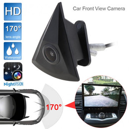 Volkswagen Polo Logo Australia - Car Front View Camera for VW Volkswagen GOLF Jetta Touareg Passat Polo Tiguan Bora Waterproof Wide Degree Logo Embedded For VW