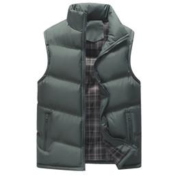 $enCountryForm.capitalKeyWord Australia - Cotton-Padded Men's Vest 2019 Slim Fit Sleeveless Jacket for Men Plus Size Men Thicken Waistcoat Winter Warm Casual Coats 2007