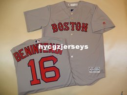 cheap shirts for sale NZ - Cheap baseball BR #16 ANDREW BENINTENDI SEWN Cool Base shirt Jersey Mens stitched jerseys Big And Tall SIZE XS-6XL For sale