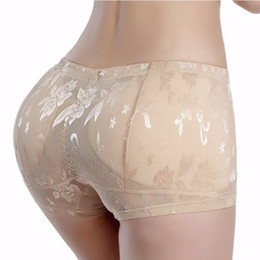 ed4017aa60b Sexy Butt Enhancer Pads Hip Lifting Panties Butt Lift Shapewear Women Body  Shaper Fake Ass Underwear Plus Size M-4XL