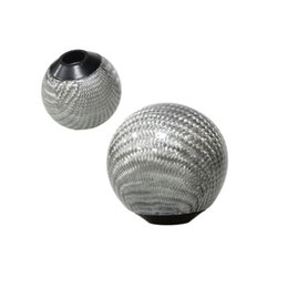 $enCountryForm.capitalKeyWord Australia - Silver Carbon fiber Gear Shift Knob for AT MT Shifter Lever 3 Aadapters switching adapters Cool Funny Automobile Acessories Auto Decoration